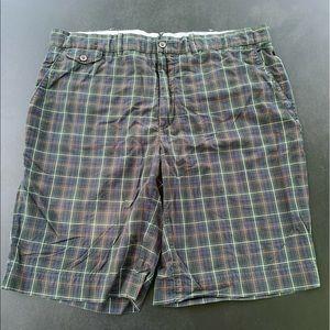 Polo Ralph Lauren Bleeker Green Plaid Cotton Short